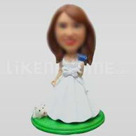 Female bobble head-10227