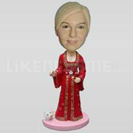 Doll bobble head-10243