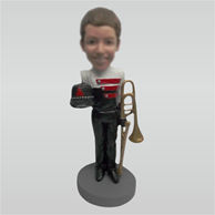 Custom Little musicians bobbleheads