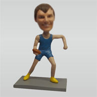Personalized custom Rugby bobblehead doll