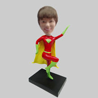 Personalized custom super woman bobblehead dolls