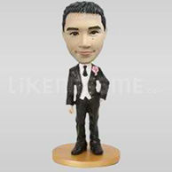 Custom wedding bobbleheads-10002