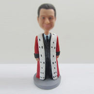 Personalized custom man bobbleheads