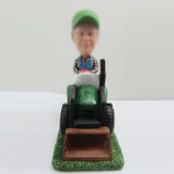 Personalized custom Grandpa bobbleheads  with car