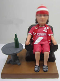 Personalized custom World Cup fans bobbleheads