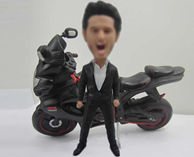 Personalized custom Motorcycle bobbleheads