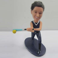 Personalized custom bobble heads of Baseball player