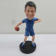 Personalized custom basketball bobblehead