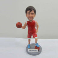 Personalized custom Basketball bobble heads