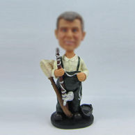 Personalized custom Fishing bobblehead