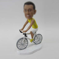 Personalized custom Mountain bike bobbleheads