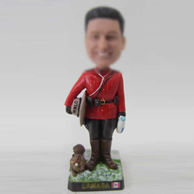 Personalized custom Ancient officer bobbleheads