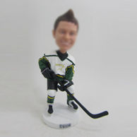 Personalized custom Hockey bobblehead doll