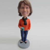 Personalized custom hold cup bobbleheads