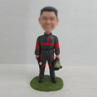 Personalized custom in working bobblehead