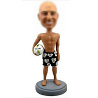 Personalized custom Beach Volleyball bobbleheads