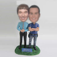Personalized custom best friends bobbleheads