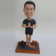 Personalized custom Yoga bobbleheads