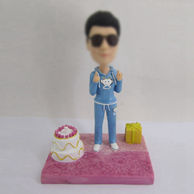 Personalized custom birthday bobbleheads