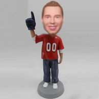 Personalized custom look at this bobble heads