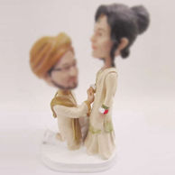 Personalized custom India wedding cake bobbleheads