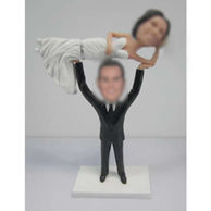 Personalized custom Specially wedding cake bobbleheads