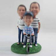 Personalized custom family bobblehead