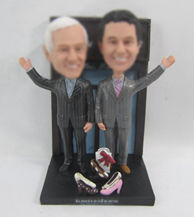 Personalized custom King heels bobbleheads