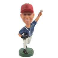 Personalized custom Baseball bobblehead dolls