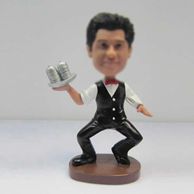 Personalized custom Bartender bobbleheads
