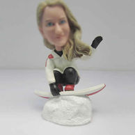 Personalized custom Skiing bobble heads