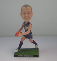 Personalized custom Rugby bobblehead