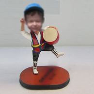 Personalized custom happy bobbleheads