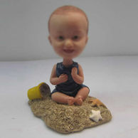 Personalized custom happy baby bobbleheads