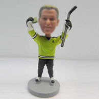 Personalized custom Hockey bobble heads