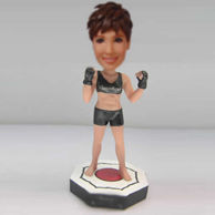Personalized custom Boxer bobble head