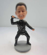 Personalized custom Fencing bobble heads