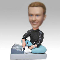 Personalized custom DJ bobbleheads