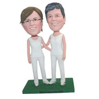 Customized same sex bobble heads