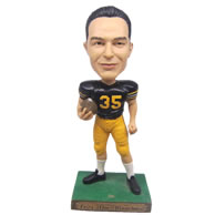 Personalized custom smart football player bobbleheads