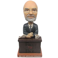 Personalized custom manger interview bobbleheads