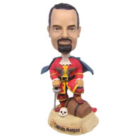 Personalized custom captain bobbleheads