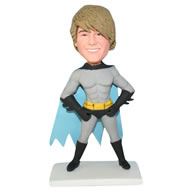 Strong muscle superman bobblehead