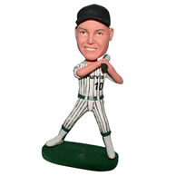 No.10 baseball player in baseball uniform bobblehead