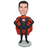 Superman in superman uniform custom bobblehead