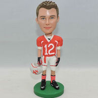 Soccer custom bobbleheads for boy friend