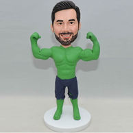 Incredible hulk custom bobbleheads