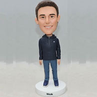 Personalized custom bobbleheads gifts for brother