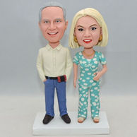 Christmas custome bobbleheads gifts for parents