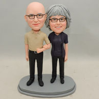Personalized Bobbleheads For Sweet Couple Anniversary Gift